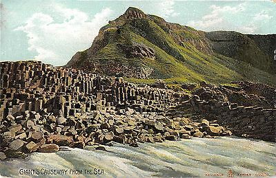 Northern Ireland Postcard Giants Causeway From The Sea  F0 064