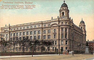 Northern Ireland Postcard Belfast Technical Institute G0 038