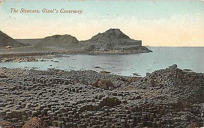 Northern Ireland Postcard Giants Causeway The Steucans E0 017