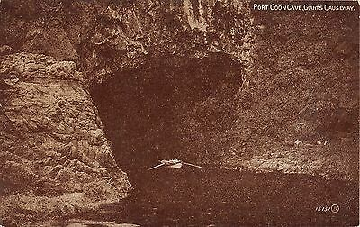 Northern Ireland Postcard Giants Causeway Port Coon Cave  E0 048
