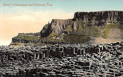 Northern Ireland Postcard Giants Causeway The Chimney Pots  E0 050