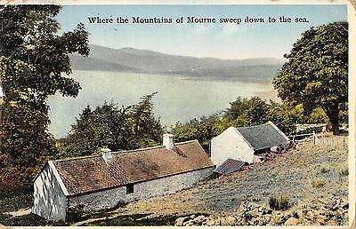 Northern Ireland Postcard Mountains Of Mourne Sweep Down To The Sea  J0 006