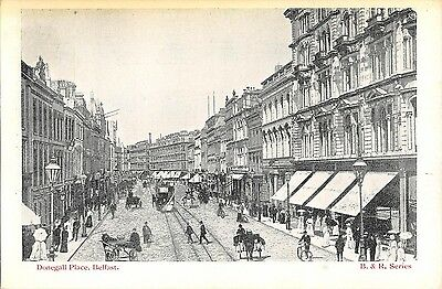 Northern Ireland Postcard Belfast Donegall Place  I0 026