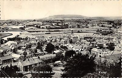 Northern Ireland Postcard Enniskillen Co Fermanagh From The Cole Monument E0 005