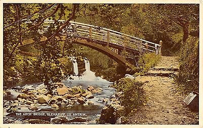 Northern Ireland Postcard The Arch Bridge Glenariff Co Antrim  J0 024