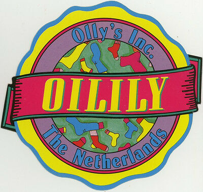 Sticker: Oilily. The Netherlands.