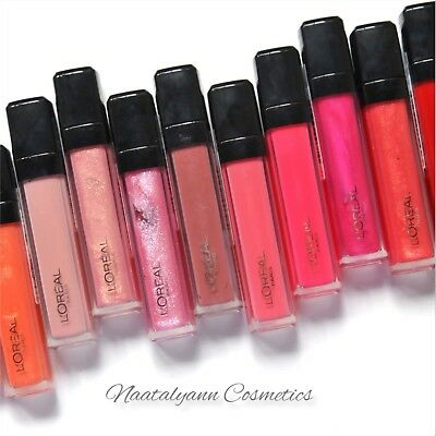 L'Oreal INFALLIBLE MEGA LIP GLOSS all  shades available NEW + FREE P&P