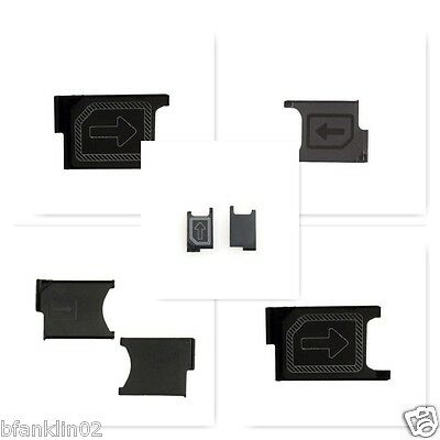 Micro Sim Card Tray Holder Tray Adapter Slide For Sony Xperia