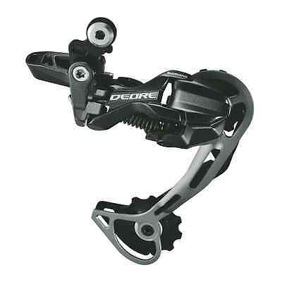 Shimano Deore RD-M593 Rear Derailleur 10-Speed SGS Long Cage OEM Black Mountain