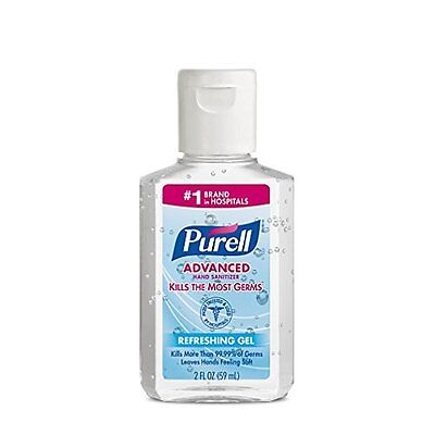 3 Pack - Purell Instant Hand Sanitizer, 2 Ounce Each