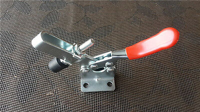 4x GH-201B 90Kg/ 198Lbs Toggle Clamp Holding Capacity Horizontal Quick Release