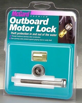 """Mcgard 74049 Outboard Motor TRANSOM Lock 5/16""""-18 Thread Single up to 30 HP LC"""