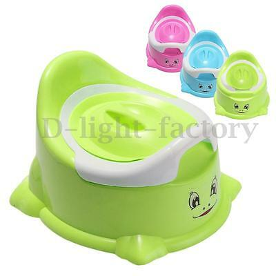 Removable Cartoon Smile Potty Toilet Chair Seat Baby Toddler Children Training