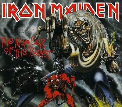 Iron Maiden - Number of the Beast [New CD] Enhanced