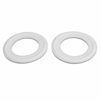 """32mm PTFE Gasket 2pcs for 1.5"""" Tri Clamp Sanitary Pipe Fittings Ferrules"""