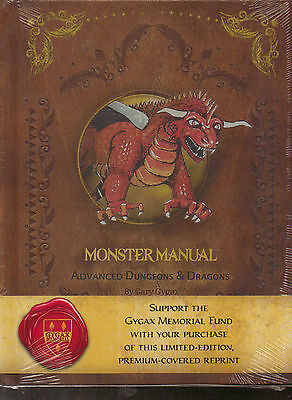 Monster Manual - AD&D - Premium Cover Limited Edition - 1st Ed Reprint - New