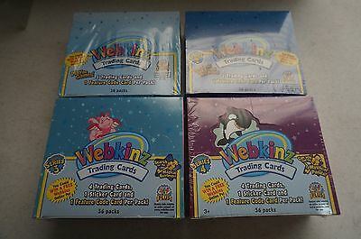 Webkinz Trading Cards Webkinz Factory Sealed Boxes or Webkinz Packs Trading Card