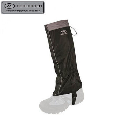 Highlander Glencoe Lightweight Waterproof Walking Gaiters – Mens Womens Kids