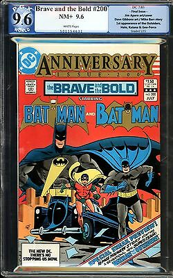 Brave and the Bold #200 PGX 9.6