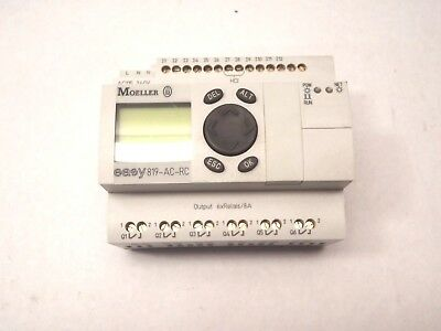 Moeller Control Relay Easy 819-Ac-Rc Cat #easy819-Ac-Rc