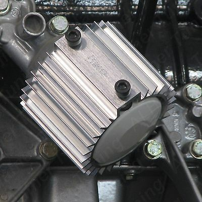 BMW M10 Oil Filter Cooler/Heat Sink Cover (Silver)