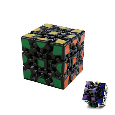 New Black Gear 3x3x3 Dodecahedr Pyramid Magic Cube Twist Puzzle Kid Toy Gifts