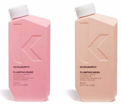 Kevin Murphy Plumping Wash Shampoo & Rinse Conditioner Densifying 250ml DUO