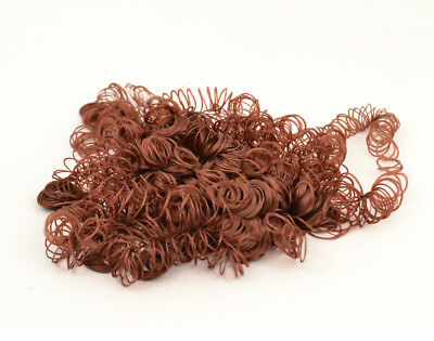 High Quality Dolls Hair Brown Auburn Curls for Crafts - 0.5oz