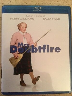 Mrs Doubtfire Bluray NEW disc/case/cover only-no digital/dvd/slip Robin Williams