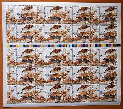 1985 Cocos Keeling Islands - Birds - Full Sheets Of 20 Sets