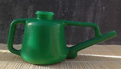 Geeco small vintage almost rubbery plastic watering can