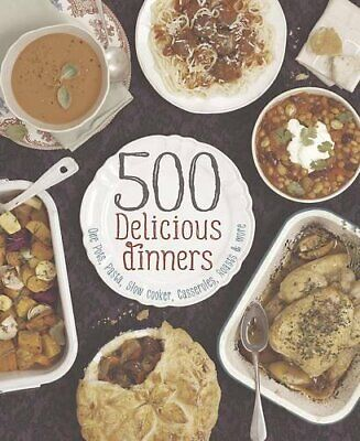 500 Delicious Dinners by  1472351304
