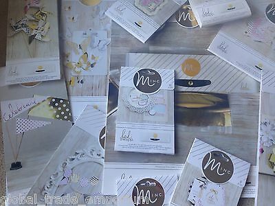 HEIDI SWAPP MINC Hot Foiling Accessories - Labels Number Carrier sheets Tags ETC
