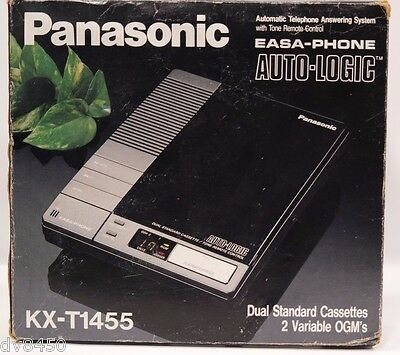 Panasonic EASA-Phone Auto logic 2 Variable Telephone answering system KT-T1455