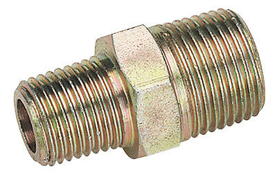 "Draper 3/8"" Male to 1/4"" BSP Male Taper Reducing Union (Sold Loose) - 25826"