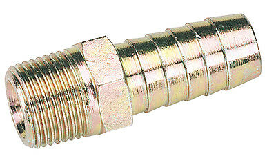 """Draper 3/8"""" Taper 1/2"""" Bore PCL Male Screw Tailpieces Pack of 3 - 25863 