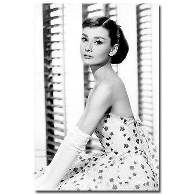 AUDREY HEPBURN Movie Art Silk Poster Roman Holiday 007