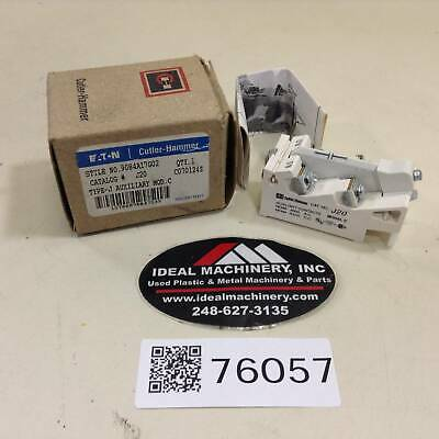 Cutler Hammer Auxiliary Contact J20 New #76057