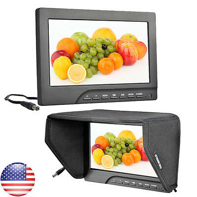"FEELWORLD FW689-HD 7"" HD TFT LCD Camera Video Monitor For DSLR Canon Nikon US SP"