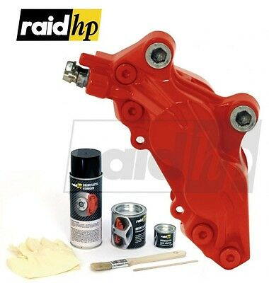 (9,45€/100ml) RAID HP Pintura de caliper freno ROJO brillosa Set completo