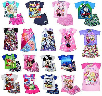 NEW Sz 1-12 BOYS PYJAMAS OCTONAUTS PJ KIDS SUMMER PJS SLEEPWEAR TOP T-SHIRT TEES