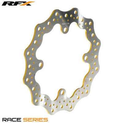 RFX Race Rear Brake Disc (Yellow) Suzuki RMZ250 07-16 RMZ450 05-16