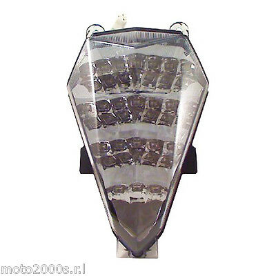 Faro Fanale Stop Posteriore Led Fumee Bkr Per Yamaha Yzf R6 2006 2007 - S4201140
