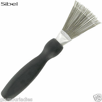Sibel Professional Black Hair Brush and Comb Cleaner Tool Hair Remover