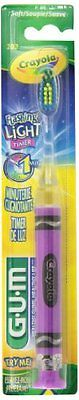 GUM Crayola Toothbrush Soft Assorted Colors 1 Each