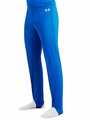 NEW Men's Under Armour Gymnastic Stirrup Spandex Pants AL/AXL red and blues