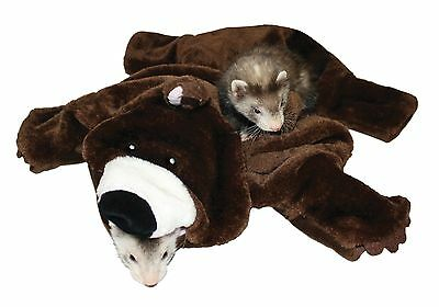 Marshall Ferret Cage Bed Tunnel Fun Interactive Toy Bear Rug