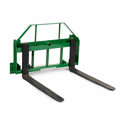 "48"" Pallet Fork Attachment fits John Deere 200,300,400,500 Loaders deer"