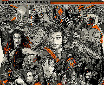 Guardians Of The Galaxy - Movie GOTG03 A3 POSTER PRINT BUY 2 GET 3RD FREE