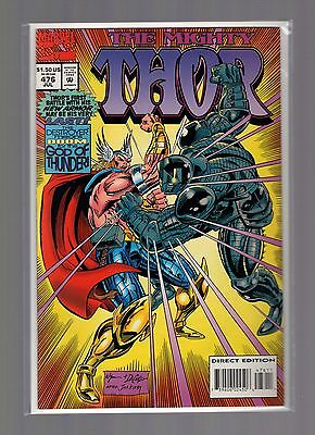 Thor #476 VFNM Wyman - Destroyer